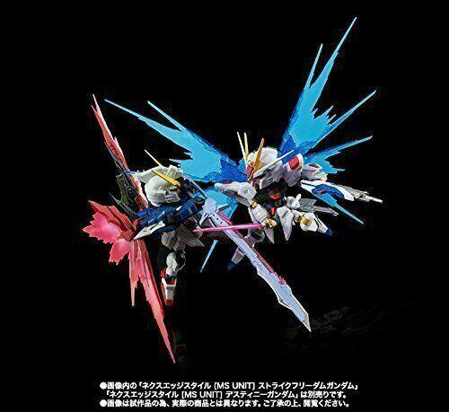 NXEDGE STYLE [MS UNIT] Strike Freedom Gundam VS Destiny Gundam Confrontation Set