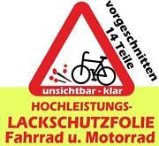 Schutzfolie Fahrrad