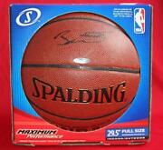 Dwayne Wade Signed Basketball