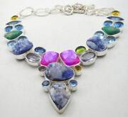 Titanium Druzy Necklace