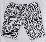 Mens Zebra Shorts