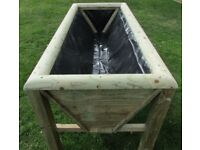 LARGE PLANTER/ANIMAL FEEDER, CHUNKY AND RUSTIC YET STYLISH