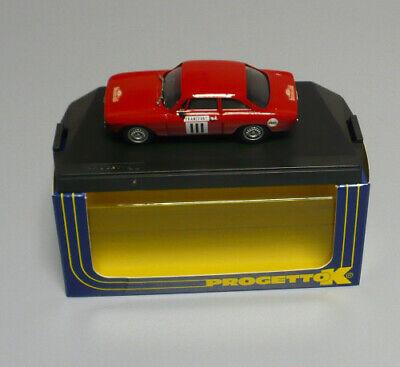 MODELLINO ALFA ROMEO GIULIA GTA RALLY MONTECARLO 1967 -1:43 PROGETTO K