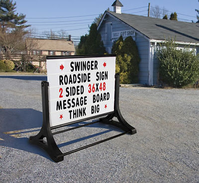 Swinger Roadside Changeable Letters Message Board Sign