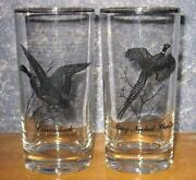 Pheasant Drinking Glasses