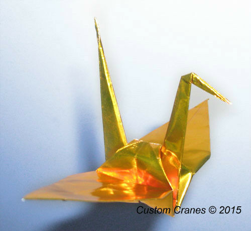 Paper Cranes in Your Choice of Pattern