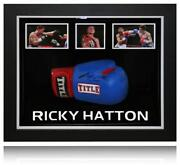 Ricky Hatton Signed Glove