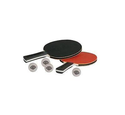 Harley Davidson Mesa Ping Pong Ping Pong Raqueta Paletas Con