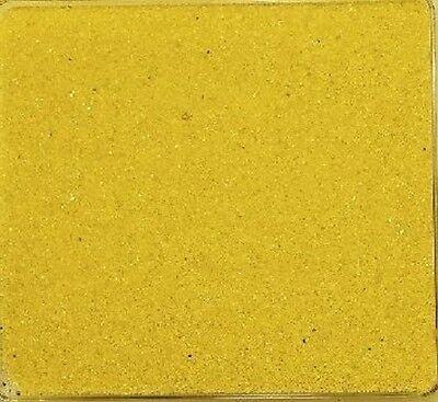FARBSAND 5 kg, Dekosand, Bastelsand, 5000 g Sand farbig in hellgelb, GELB -30 Farbigen Sand 5 Kg