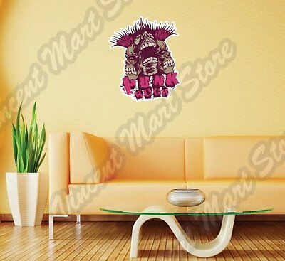 Punk Rock Music Band Trash Grunge Wall Sticker Room Interior Decor 18X25