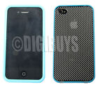 Transparent Mobile Phone Bumpers for iPhone 4s