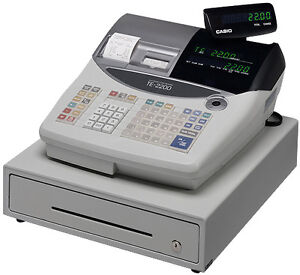 Casio TE-2200 - POS, Point of Sale, Cash Registers Thermal Print