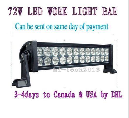 72w Led Light Bar Ebay