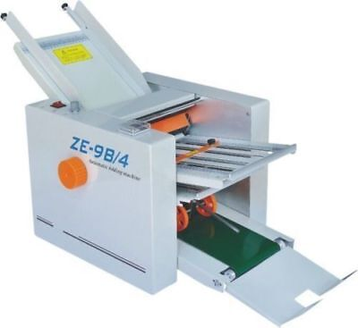 New 210620mm Paper 4 Folding Plates Auto Folding Machine Ze-9b4 U