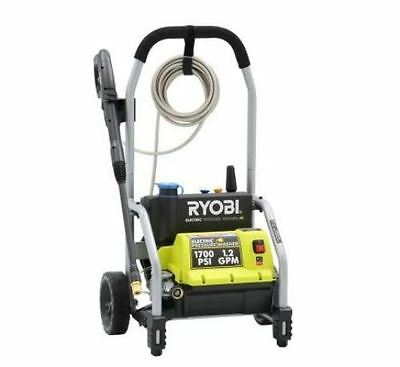 Electric Pressure High Power Washer 1700 Psi 1.2 Gpm On Board Detergent Tank New