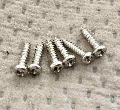 Lotus Strat Electric Guitar Tuners Original Mounting Screws Set of 6