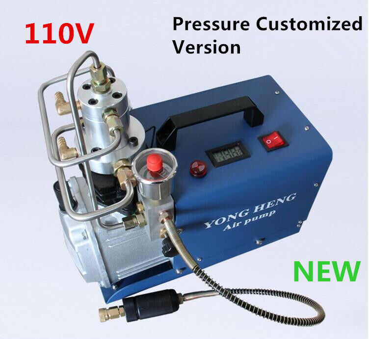 220V-230V Ansprechdruck 300bar 4500 Psi Luftpumpe hohen Druckluftkompressor PCP