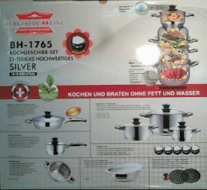 Brand new in box ....21 pieces cookware