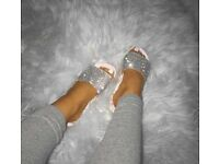 Size 6 glittz slippers