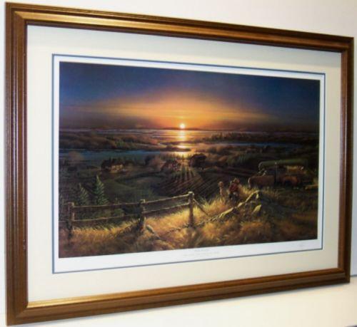Terry Redlin Framed Signed Ebay