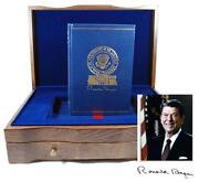 Ronald Reagan Signed Book