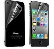 Screen Protector Front Back for Apple iPhone 4S