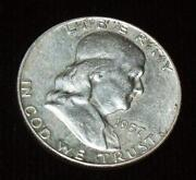 1957 Franklin Half Dollar