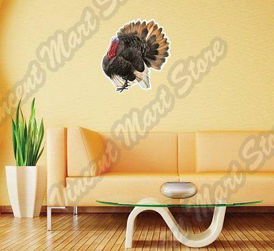 Thanksgiving Holiday Turkey Farm  Wall Sticker Room Interior Decor 22