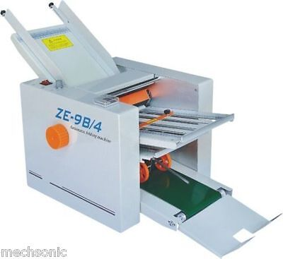 310700 Mm Paper 4 Folding Plates Auto Folding Machine Ze-9b4 Ss