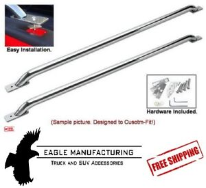 Stainless Steel Box Rails for Ford Dodge GM - FREE SHIPPING