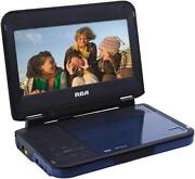 Blue Portable DVD Player