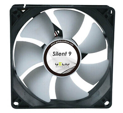 Gelid CC-SnowStorm-01 SnowStorm 92mm Silent Fan with Intelligent PWM Control