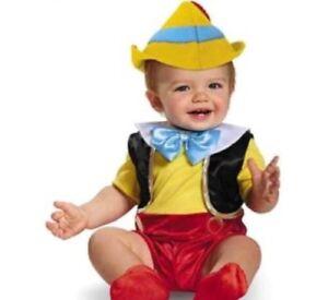 Baby Pinocchio Halloween costume