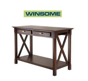 NEW* WINSOME XOLA CONSOLE TABLE 40544 Xola Console table Winsome Xola Console Table - Brown 109414059