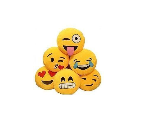 Cuscini Cuscino Face Facce Emoticon Emoji