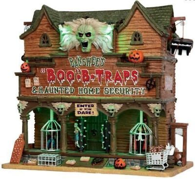 Spooky Town Banshee's Boo-B-Traps & Home Security Halloween Scare Zone! New