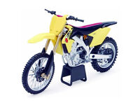 New Ray Die Cast Toy 1:12 Suzuki RMZ 450 Xmas Gift Toy Bike Motocross