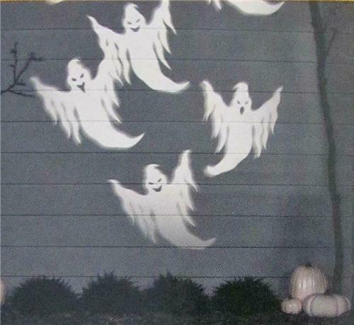 NEW! Halloween Ghost GEMMY Shadow Waves Light Show Projector