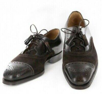 Sutor Mantellassi Marrón Zapatos Talla 8.5 ( Ee. Uu. ) / 7.5...