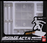 Tamashii Stage Act 4 Humanoid Clear Stand S.H Figuarts S.I.C Pack of 3 Bandai
