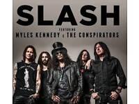 Slash featuring Myles Kennedy & the Conspirators Tickets - STANDING - Hammersmith - 20/02