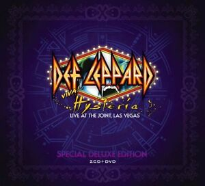 DEF LEPPARD  Hysteria Live At The Joint, Las Vegas 2xCD/DVD.
