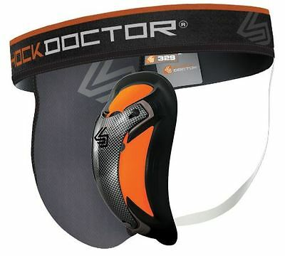 Shock Doctor 329 Ultra Pro Supporter with Ultra Carbon Flex Cup Jock -