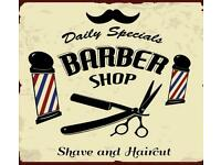 Part and Full time Barber