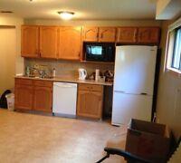 Spacious basement suite in Cochrane