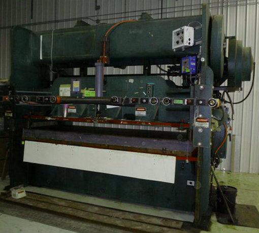 Dreis & Krump Model Ss100-48-120 Straight Side Double Crank Punch Press