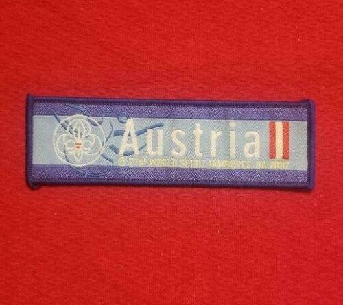 2007 Austria IST Contingent Patch World Jamboree