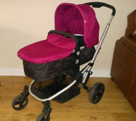 mothercare pushchair + carseat