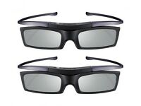 3D glasses, get the Cinema experience, Samsung Tv. Originally each purchased for 29.99