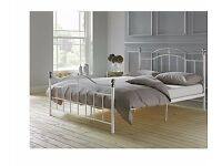 Brynley Double Bed Frame - Ivory 147.